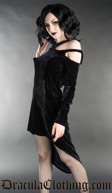 Velvet Witch Dress