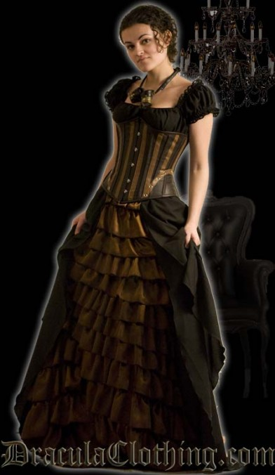 Steampunk Victorian Dress