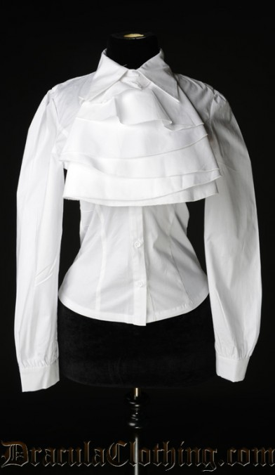 White Cotton Marquess Blouse
