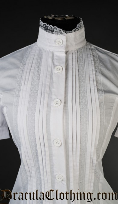 White Edwardian Blouse