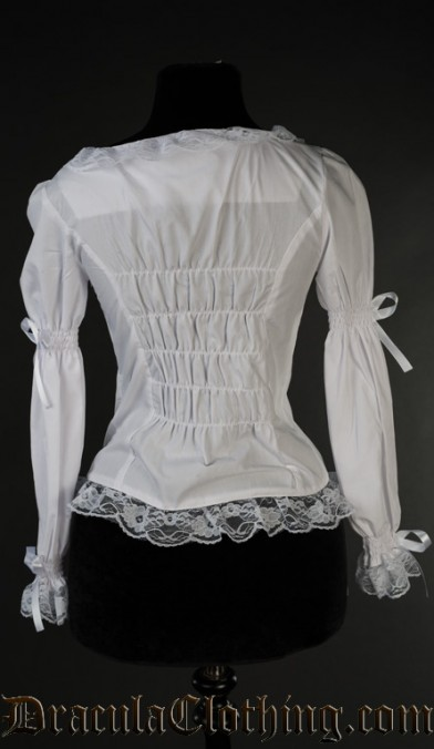 White Romantic Blouse