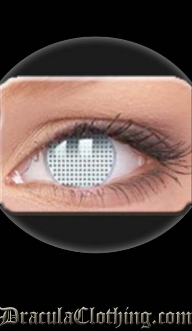 White Screen 1 Year Contact Lenses