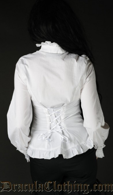 White Victorian Blouse