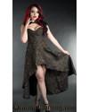 Axinite Steel Choker Dress