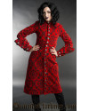 Crimson Female Admiral Coat