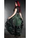 Emerald Layer Bustle Skirt