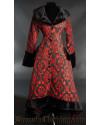 Red Pocket Winter Coat
