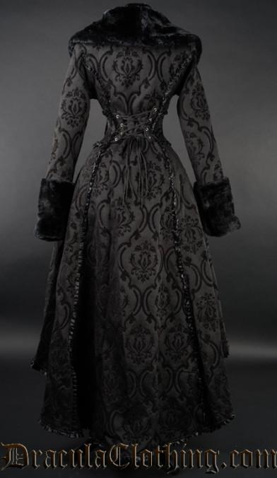 Black Evil Queen Coat