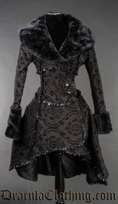 Black Queen Coat