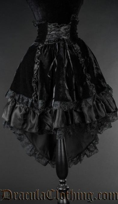Black Velvet EGL Skirt