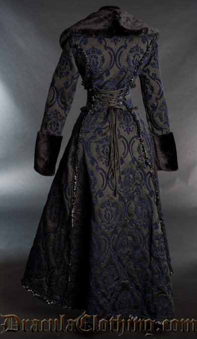 Blue Evil Queen Coat