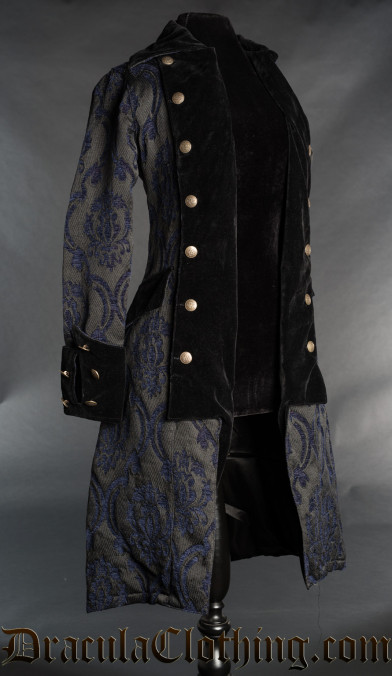 Blue Pirate Princess Coat