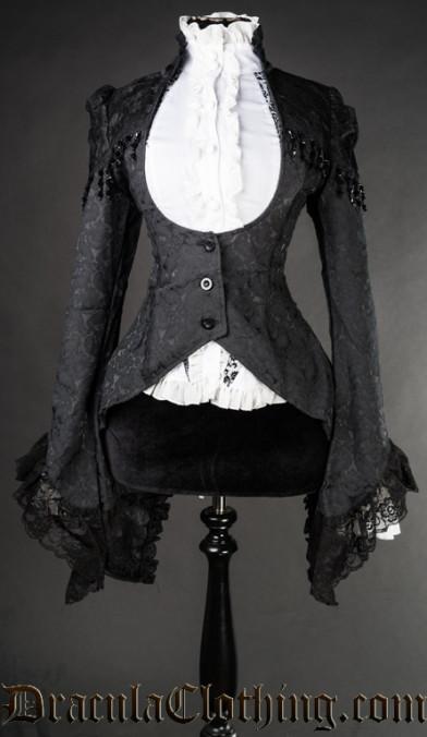 Brocade Lace Tailcoat