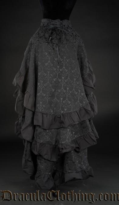 Brocade Layer Bustle Skirt