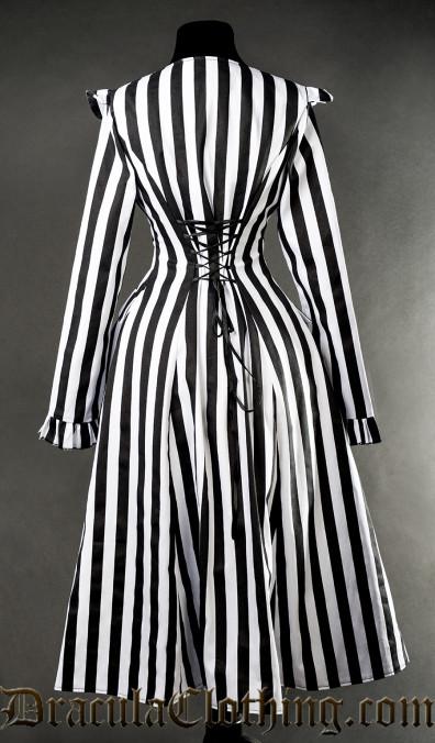Striped EGA Coat