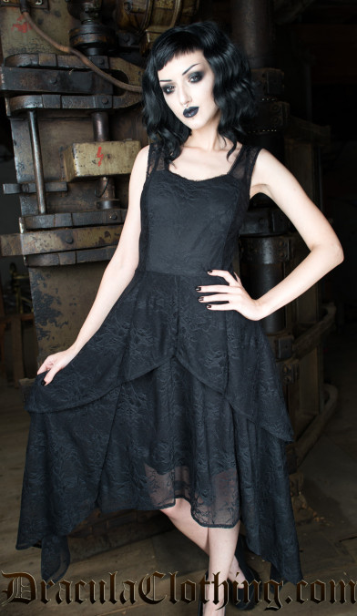 Goth Lace Dress