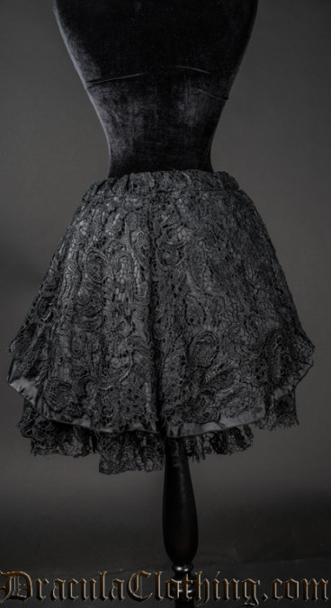 Lace Short Skirt