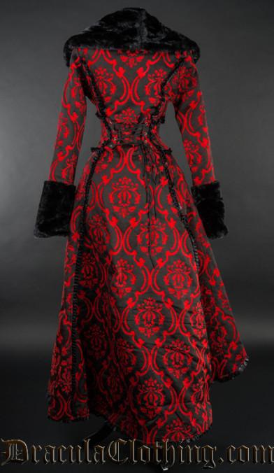 Red Evil Queen Coat