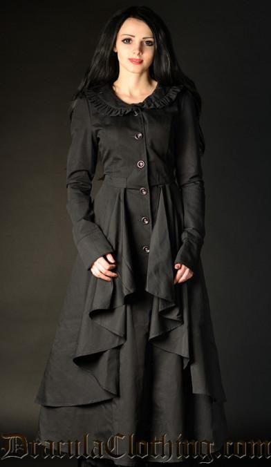 Ruffle Coat