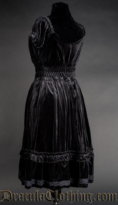 Velvet Gothabilly Dress