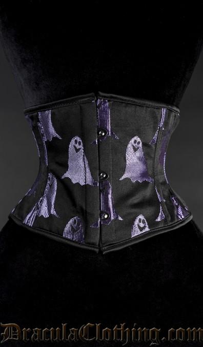 Purple Ghost Waist Cincher