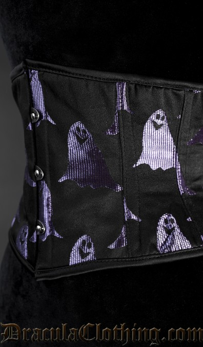 Purple Ghost Waist Cincher