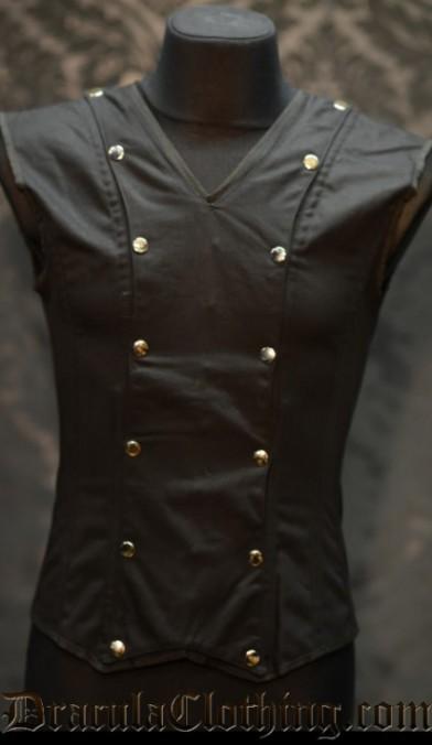 Black Cotton V-Shaper