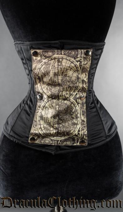 Black Panel Corset