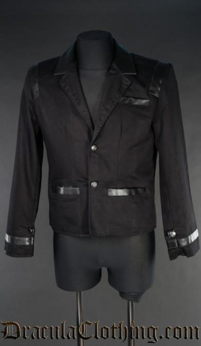 Black Steampunk Edison Jacket