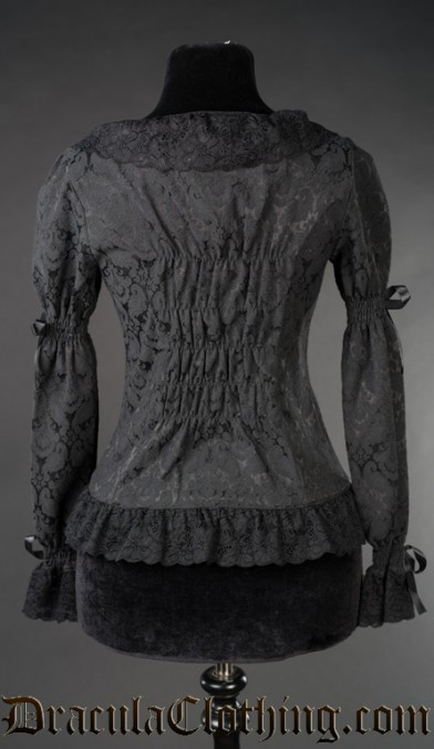 Brocade Romantic Blouse