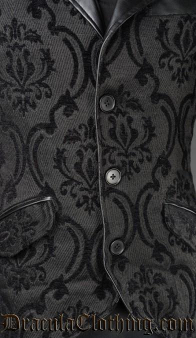 Brocade Steampunk Tailcoat