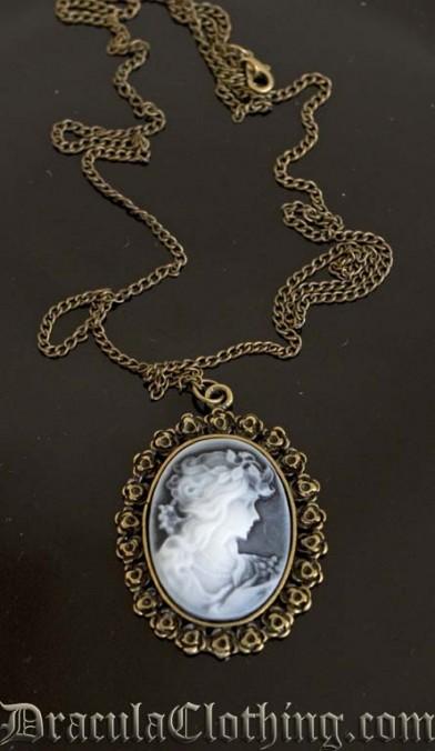 Cameo Pendant Necklace