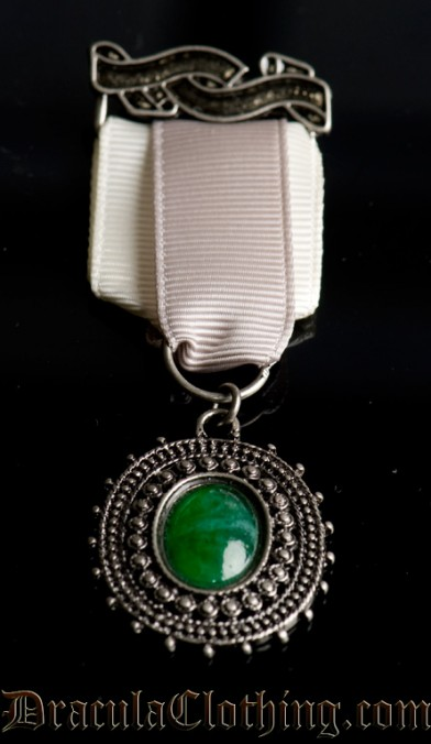 Green Stone Badge