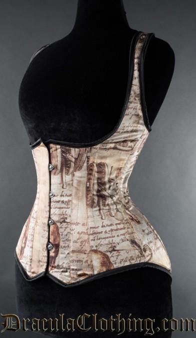 Leonardo Invention Shoulder Corset