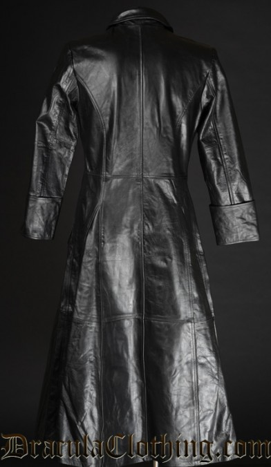 Leather Warrior Coat