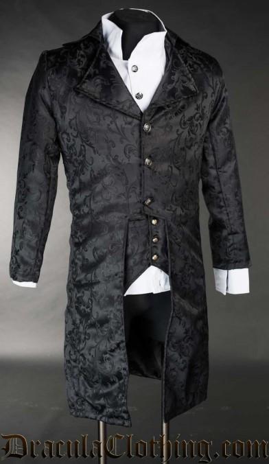 Onyx Elegant Tailcoat