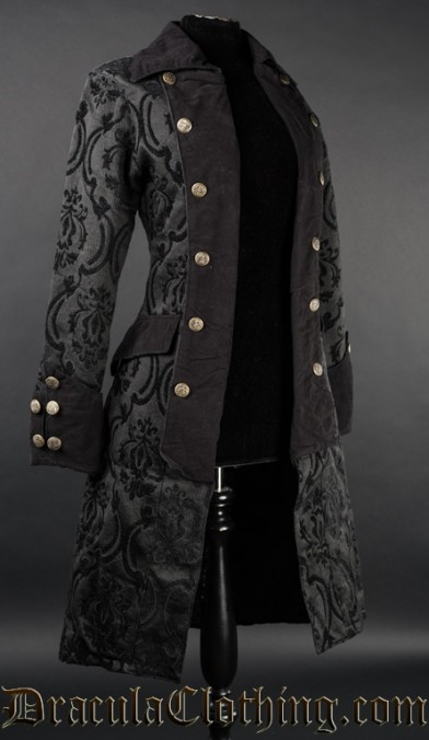 Black Pirate Princess Coat