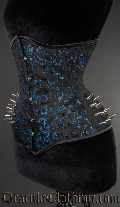 Sapphire Extreme Waist Spike Corset