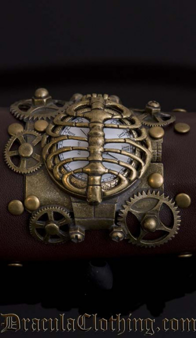 Steampunk Skeleton Watch