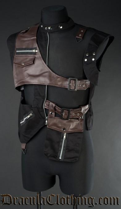 Steampunk Pocket Vest
