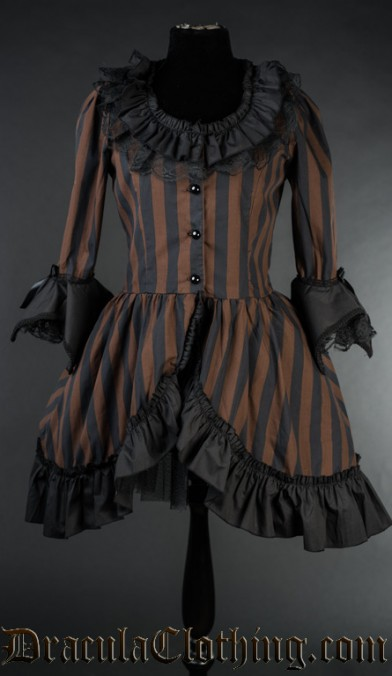 Steampunk Queen Dress