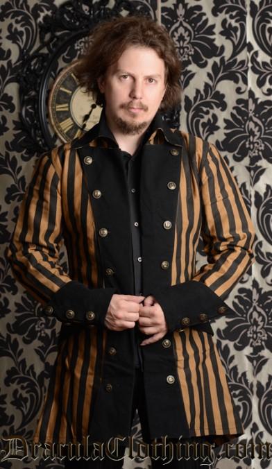 Steampunk Striped Jacket