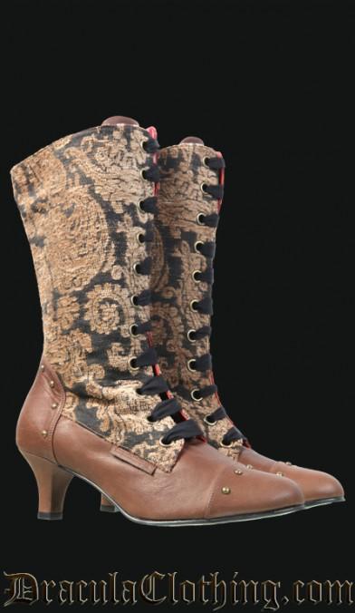 Steampunk Victorian Boots