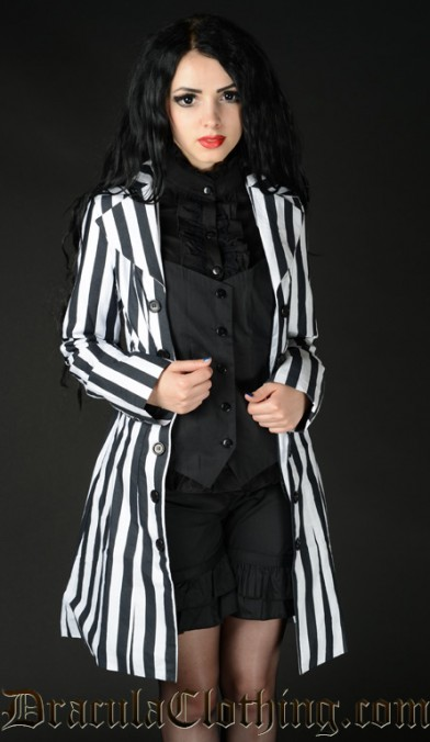 Striped Pirate Coat