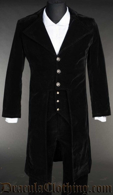 Velvet Elegant Tailcoat
