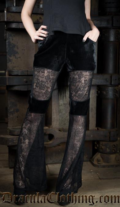 Velvet Lace Pants