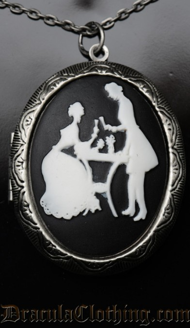 Victorian Couple Locket