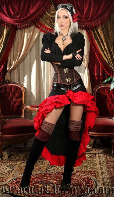Rock Red Gothic Gypsy