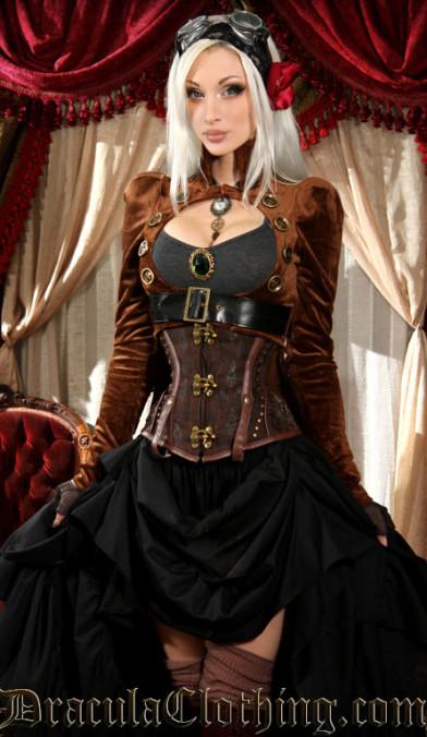 Jacke Steampunk Tailcoat