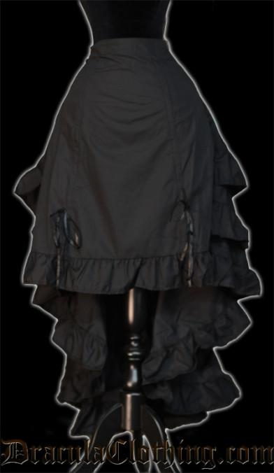 Black Layer Bustle Skirt - Old Sizes